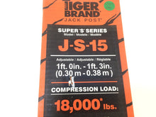Load image into Gallery viewer, Tiger Brand J-S-15 Super S 15 in. Jack Post