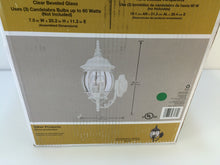 Load image into Gallery viewer, Hampton Bay HB7028-06 3-Light White Outdoor Wall Lantern 883902