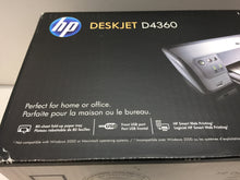 Load image into Gallery viewer, HP Deskjet D4360 Workgroup Inkjet Printer