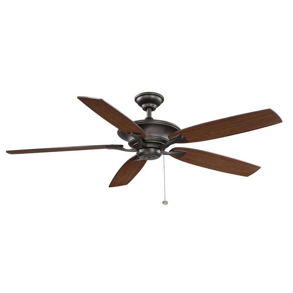 Hampton Bay Ashburton 60 in. Indoor Espresso Bronze Ceiling Fan YG593-EB