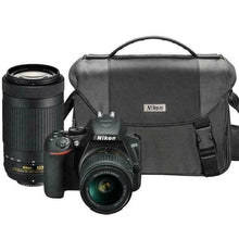 Load image into Gallery viewer, Nikon D3500 DSLR Camera with 18-55mm and 70-300mm Lenses, NOB