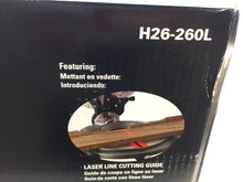 Load image into Gallery viewer, HomeCraft H26-260L 14 Amp 10 in. Compound Miter Saw with Laser