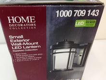 Load image into Gallery viewer, Home Decorators Collection DW7031BK Black LED Small Wall Light 1000709143