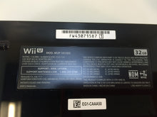 Load image into Gallery viewer, Nintendo Wii U WUP-101(02) 32GB Game Console & Game Pad, Black