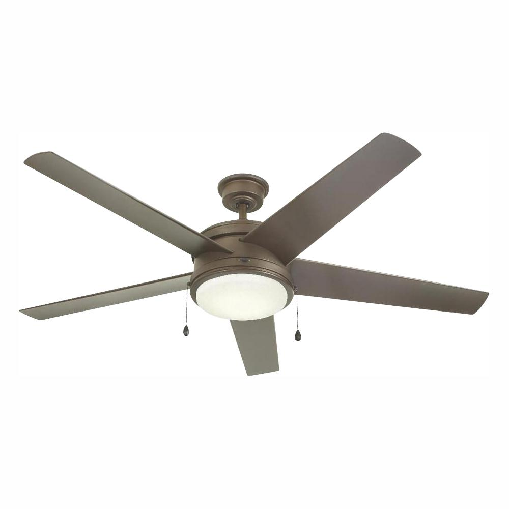 HDC YG528-EB Portwood 60 in. LED Outdoor Espresso Bronze Ceiling Fan 1001628060