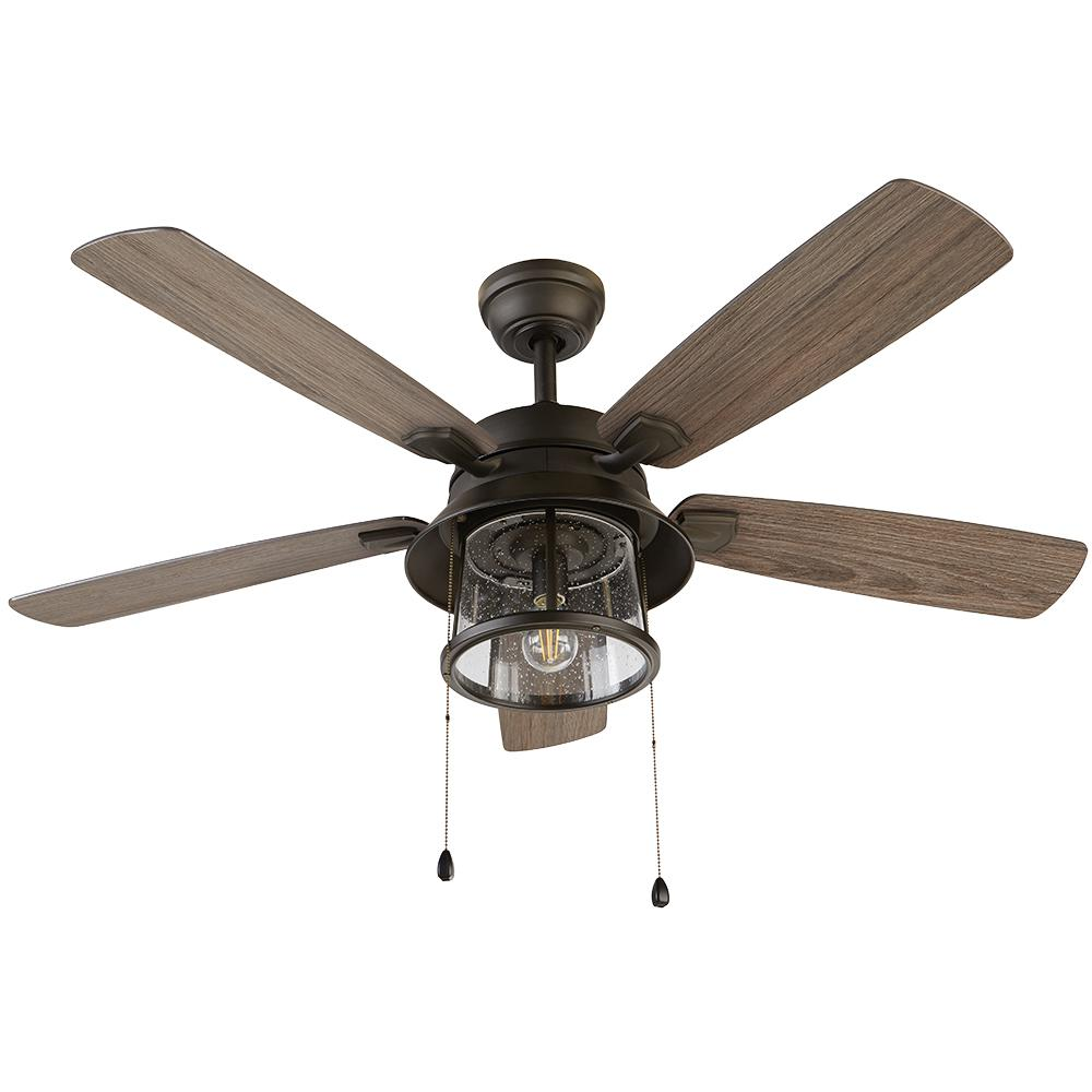 HDC 59201 Shanahan 52 in. LED Indoor/Outdoor Bronze Ceiling Fan 1003939639