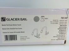 Load image into Gallery viewer, Glacier Bay HD67551-0301 Market 1-Handle Pull-Down Spray Kitchen Faucet Chrome