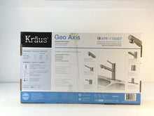 Load image into Gallery viewer, KRAUS KPF-1750ST Geo Axis Pull-Out Sprayer Kitchen Faucet in Stainless Steel