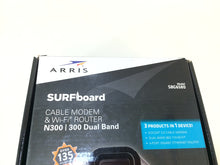 Load image into Gallery viewer, ARRIS SURFboard SBG6580 DOCSIS 3.0 Cable Modem Wi-Fi N300 Dual Band Router