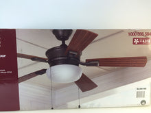 "Load image into Gallery viewer, HDC AL127-NI Lake George 54"" Natural Iron Ceiling Fan 1000035584"