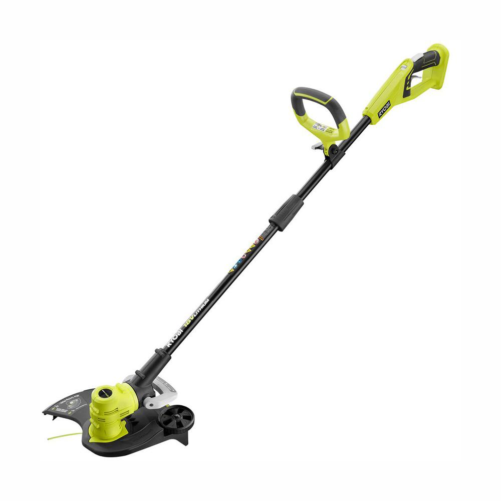 Ryobi P2008A ONE+ 18V Cordless Battery Electric String Trimmer/Edger (Tool Only)