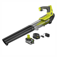 Load image into Gallery viewer, Ryobi P21801 One+ 18V Cordless Jet Fan Leaf Blower with 4Ah Battery Charger