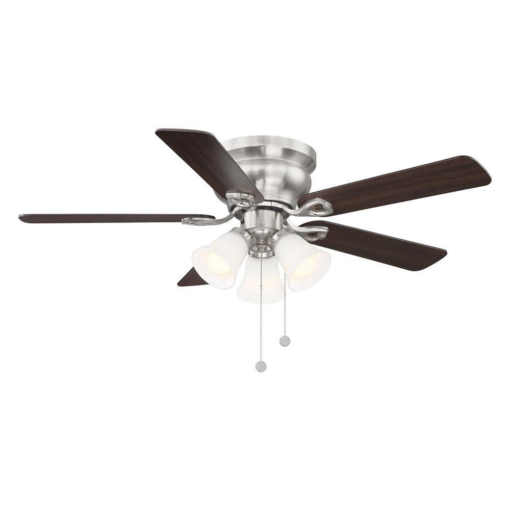 Clarkston II 44 in. LED Indoor Brushed Nickel Ceiling Fan SW18030 BN 1003918755