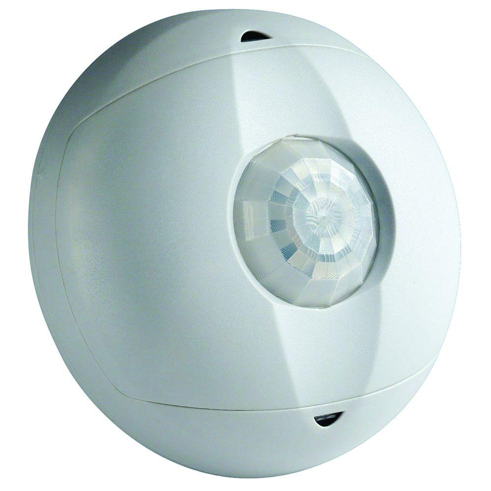 Leviton OSC15-I0W Ceiling Mount Occupancy Motion Sensor, White