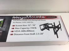 Load image into Gallery viewer, MegaMounts 98594975M 32 in. to 70 in. Full Motion Articulation Wall Mount