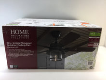 Load image into Gallery viewer, HDC 59201 Shanahan 52 in. LED Indoor/Outdoor Bronze Ceiling Fan 1003939639