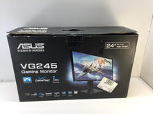 "Load image into Gallery viewer, ASUS VG245H 24"" Full HD TN LCD Widescreen Gaming Monitor Black"
