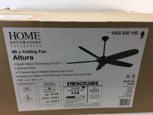 "Load image into Gallery viewer, Home Decorators Collection 94468 Altura II 68"" Bronze Ceiling Fan 1003202193"