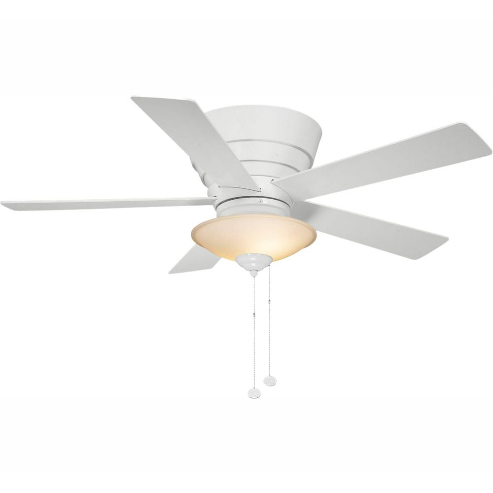 Hampton Bay 14929 Andross 48 in. Indoor White Ceiling Fan 1000562131