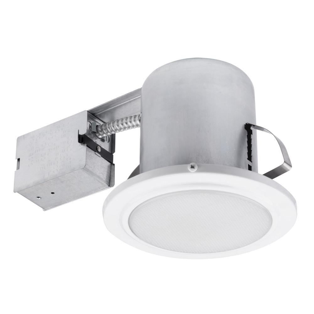 Globe Electric 90036 5 in. White Recessed Shower Light Fixture