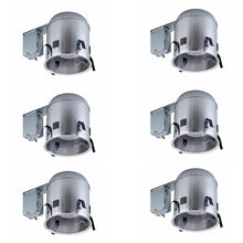 "Load image into Gallery viewer, (6pk) CE CAT7ICRAT-6PK 6"" Aluminum Recessed IC Remodel Airtight Housing"
