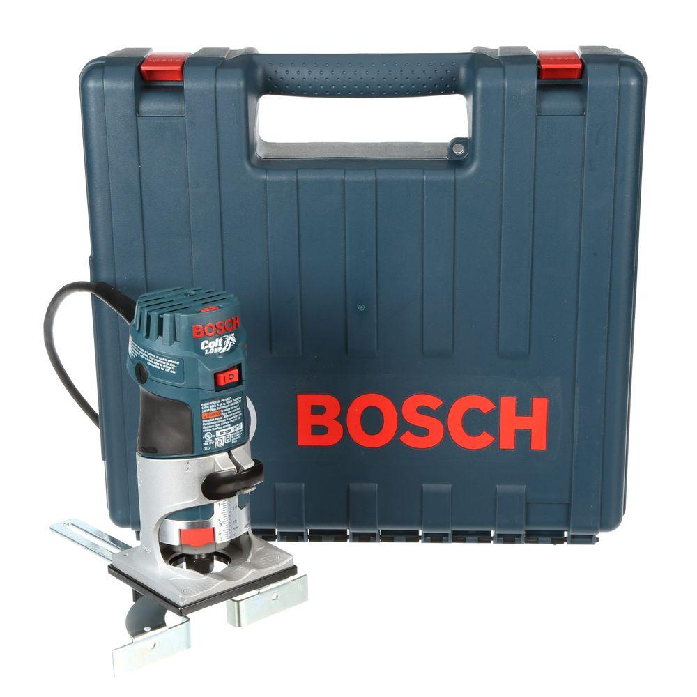 Bosch PR20EVSK 5.6 Amp Corded 1 Horse Power Variable Speed Colt Palm Router
