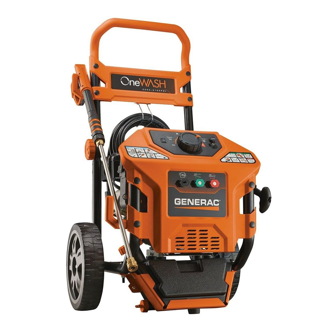 Generac 6602 3,100psi 2.8GPM OneWash Variable Speed Gas Pressure Washer, No Oil