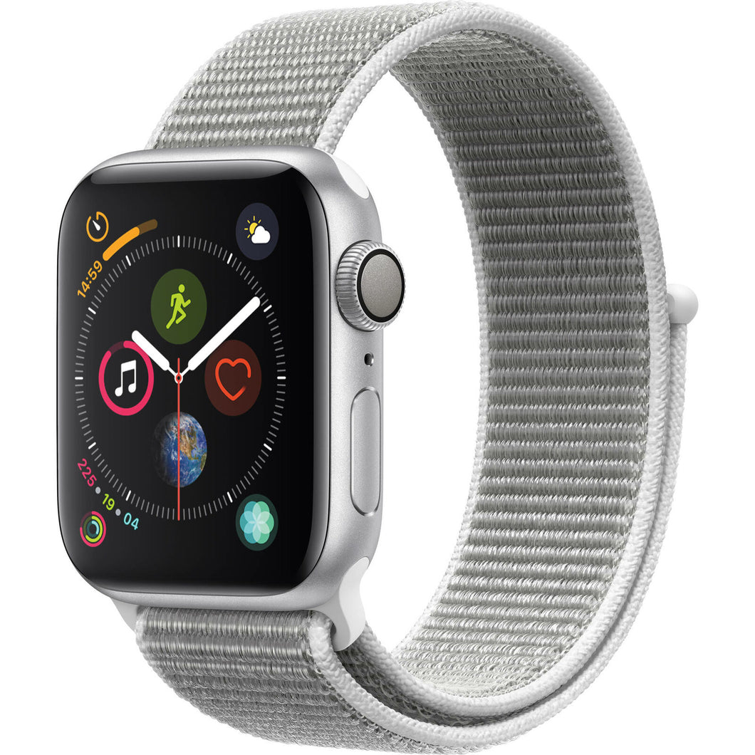 Apple Watch MU652LL/A Series 4 40 mm Silver Aluminum Case