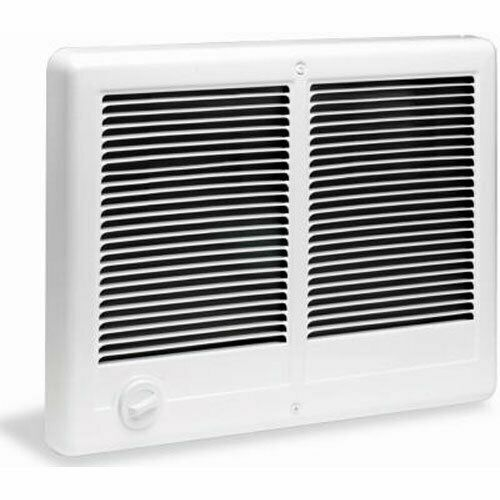 Cadet 67527 Com-Pak Twin 4000W 240V Fan-Forced In-Wall Electric Heater White