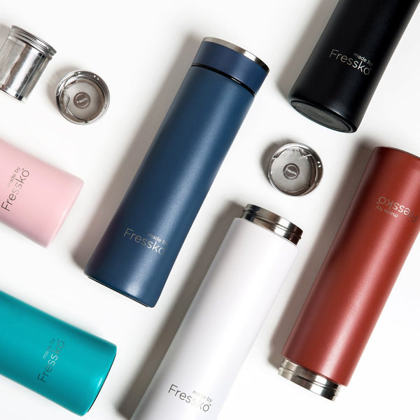 colour collection range, flask, stainless steel