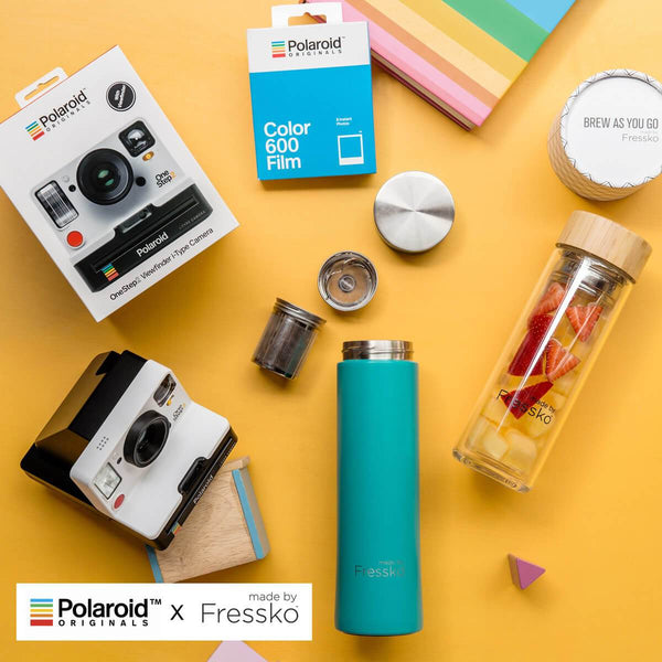 polaroid, fressko, giveaway, drink bottle, summer