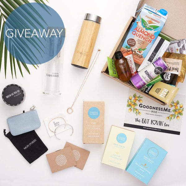 competition, win, giveaway, prizes, bamboo flask, glass flask