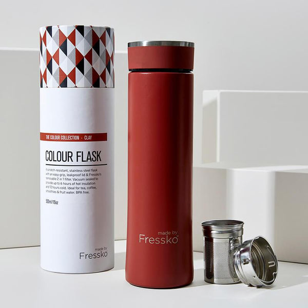 Insulated Stainless Steel - Clay