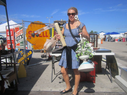 Flea Market Tales | West Palm Beach Antiques Festival