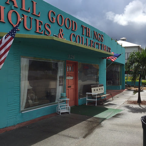 All Good Things antique marketing in Lake Worth Florida