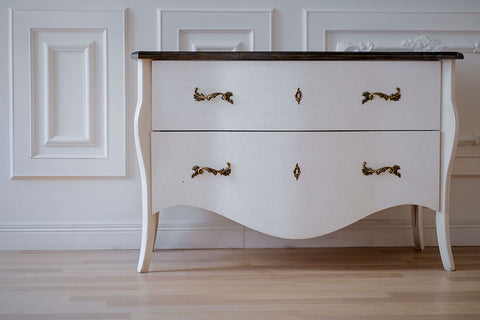 Châtelet Home Toronto Custom Painting Services White Dresser