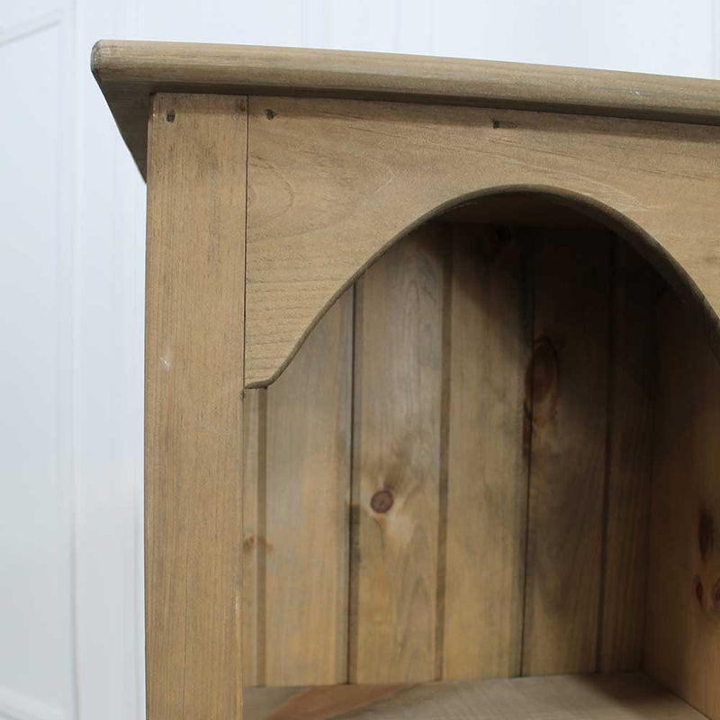 Châtelet Pine Chimney Bookcase