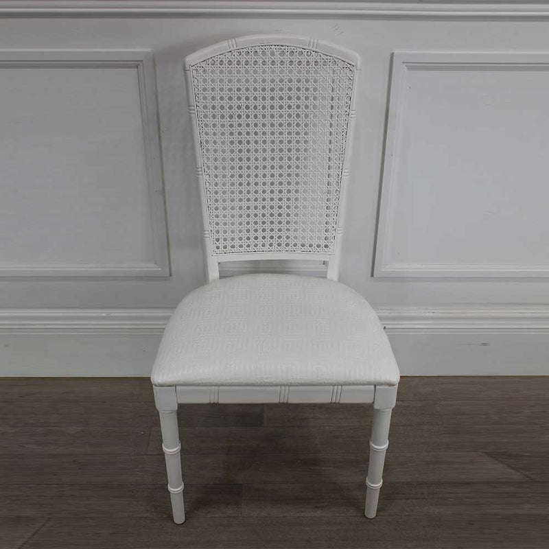 Châtelet Faux Bamboo Chair with Caned Back