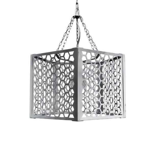 Châtelet Metal Hexagonal Light Fixture