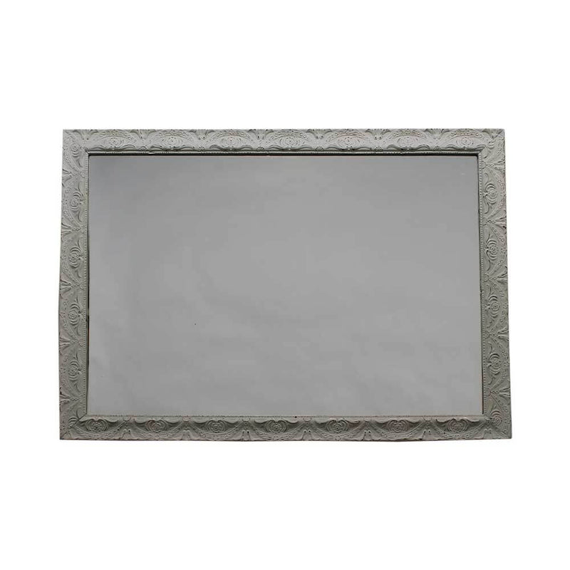Châtelet Rectangular Mirror with Distressed Frame