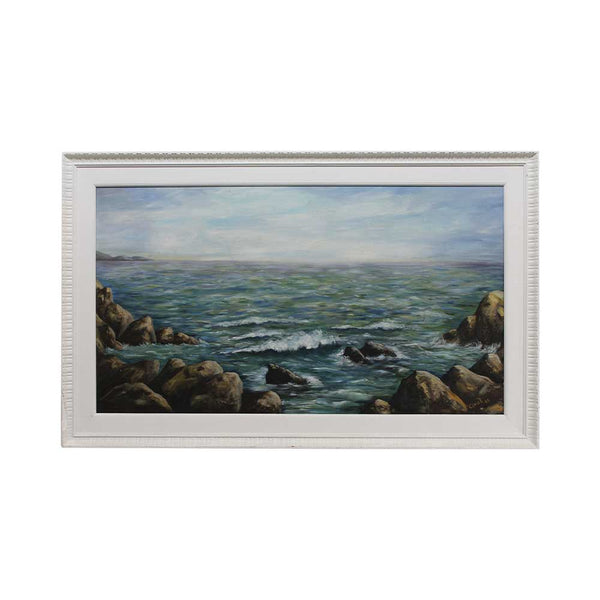 Châtelet Seascape Acrylic Canvas Painting