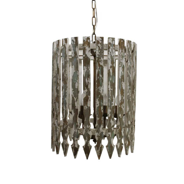 Châtelet Wooden Picket Fence Light Fixture