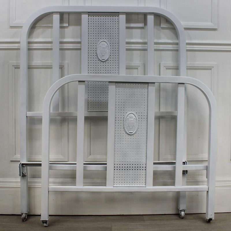 Chatelet twin metal bed