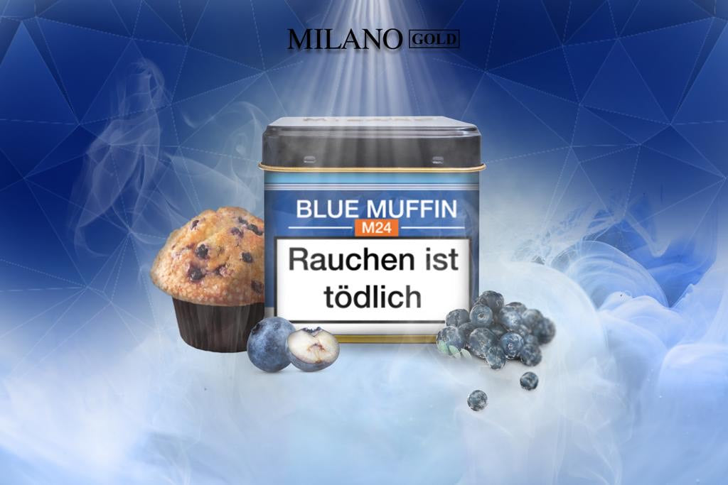 M24 Milano Blue Muffin