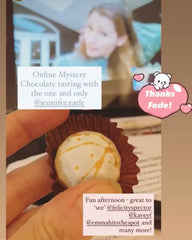 Mystery Chocolate Tasting guest experience @pastabites