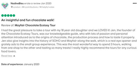 Review of Chocolate Ecstasy Tours