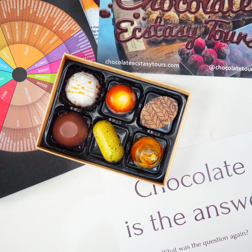 Chocolate Box - Filled Chocolates for a chocolate tasting