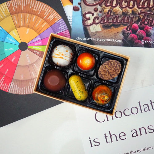 Online Mystery Chocolate Tasting with Jennifer Earle