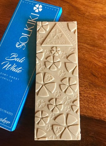 Solkiki Vegan White Chocolate Bar