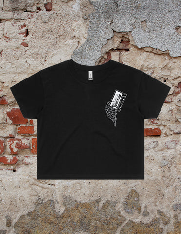 STILL NOT DEAD CROP TEE